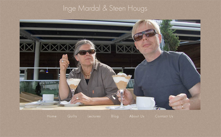 Inge Mardal and Steen Hougs