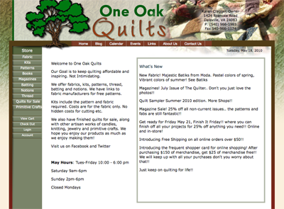 One Oak Quilts