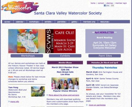 Santa Clara Valley Watercolor Society